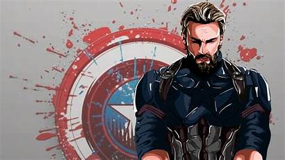 Captain America 4k Artwork Wallpapers Superheroes Behance