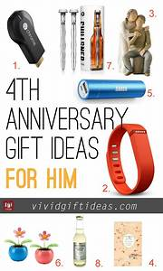 4th wedding anniversary gift ideas gifts for her and With 4 year wedding anniversary gift ideas for her