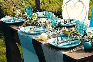 Decoration Table Mariage Pas Cher : chemin table mariage chemin table original bapteme noel pas cher ~ Teatrodelosmanantiales.com Idées de Décoration