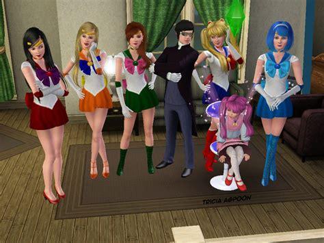 Sailor Moon The Sims  By Sugarand E On Deviantart