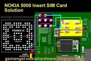 Nokia 5000 Insert Sim Card Jumper Ways
