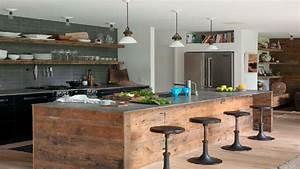 Cuisine Deco Industrielle : la cuisine industrielle un style d co qui inspire deco cool ~ Carolinahurricanesstore.com Idées de Décoration