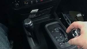 How To Shift Into 4 Wheel Drive - Jeep Wrangler Jk