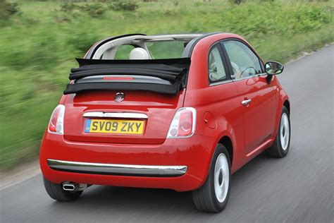 Fiat Convertible Review by Fiat 500 Convertible Review 2009