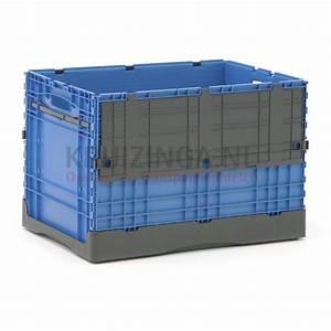 Bac De Rangement Avec Couvercle : bac de rangement plastique gerbable et pliable avec couvercle double partir de 20 50 frais ~ Teatrodelosmanantiales.com Idées de Décoration