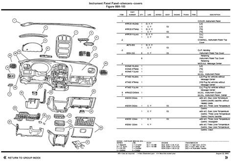 chrysler voyager parts chrysler voyager accessories