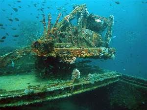 Pirate Shipwreck Underwater