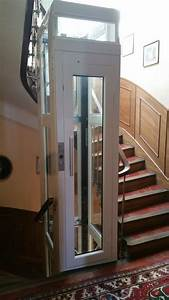 Ascenseur Exterieur Pour Handicapé Prix : pose d 39 un mini ascenseur mod le xs sur 2 niveaux ~ Premium-room.com Idées de Décoration