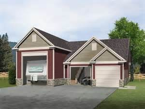 Photo Of Rv Garage Plans Ideas by Rv Garage With Two Car Garage And Unfinished Loft Above