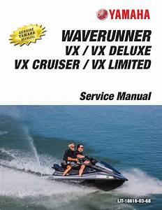 Yamaha Waverunner Vx 2016