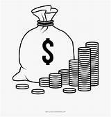 Money Coloring Bag Printable Dollar Saving Template Phenomenal Fake Sheet sketch template