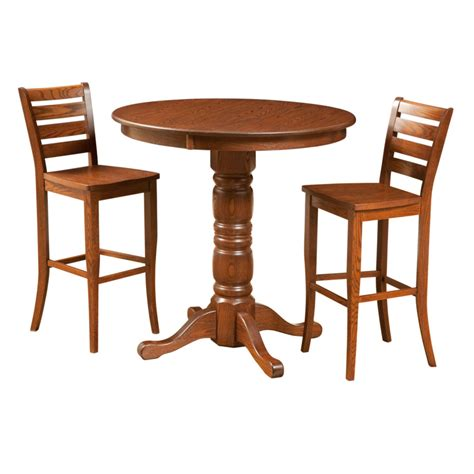 pub table solid wood traditional pub table home envy furnishings solid wood