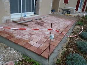 terrasse pave comment faire nos conseils With faire une terrasse en pave