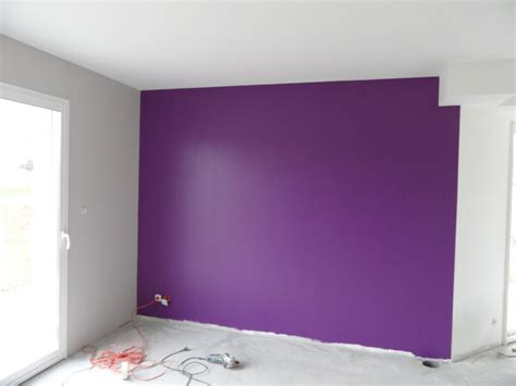 chambre bleu violet chambre mur violet et blanc design de maison