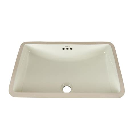rectangle vessel sink home depot ronbow rectangular undercounter ceramic vessel sink in