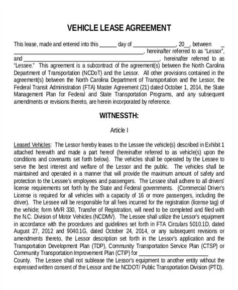 truck lease agreement  brittney taylor