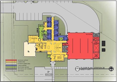 Volunteer Fire Station Floor Plans