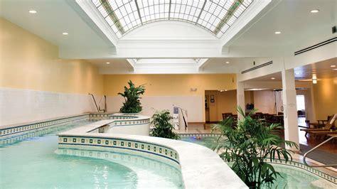 springing  restored bathhouses  hot springs