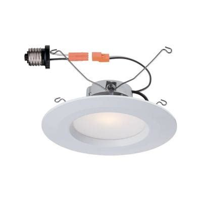 commercial electric 5 in and 6 in 2700k white led