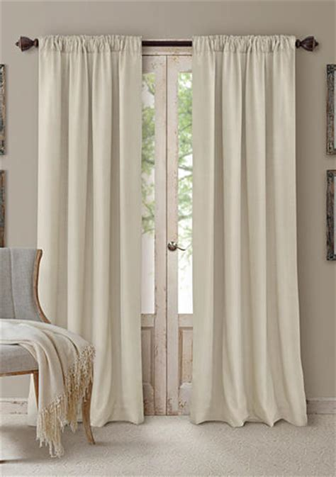 window treatments blue curtains drapes belk