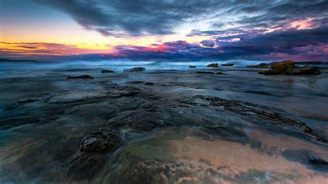 Top 21 Beach Home Decor Examples: Sunset Sonnenuntergang Meer Ocean Landscape Scene Szenerie