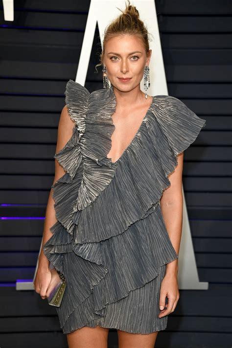 Maria Sharapova Vanity Fair Oscar Party Beverly