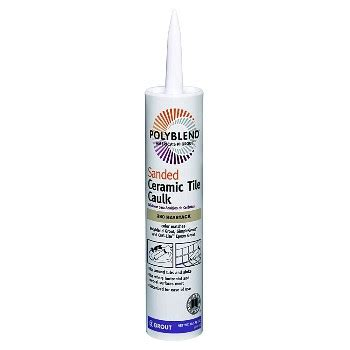 Polyblend Ceramic Tile Caulk Colors by Custom Building Products Pc38010s 10 5oz Haystack Caulk