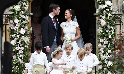 Pippa Middleton and James Matthews are married   HELLO!