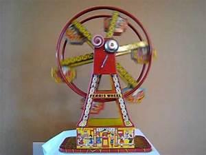 1930s CHEIN HERCULES FERRIS WHEEL TIN LITHO WINDUP TOY ...  Toy