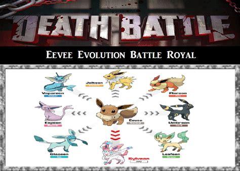battle eevee evolution battle royal by prs3245 on