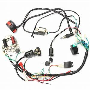 50cc 70cc 90cc 110cc Cdi Wire Harness Assembly Wiring Kit Atv Electric Start Quad Sale
