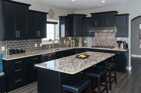 black kitchen design ideas beautiful black kitchen cabinets design ideas