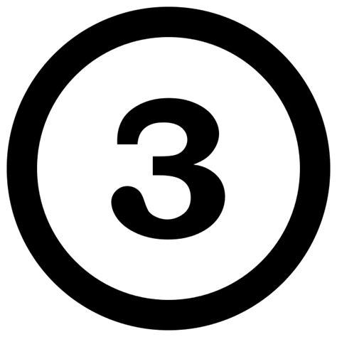 File3numberthreeincirclesvg  Wikimedia Commons