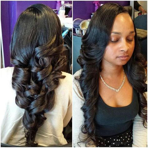 Sew In Hairstyles With No Hair Out by 27 Best Hair Sew In Weave And Braids Images On