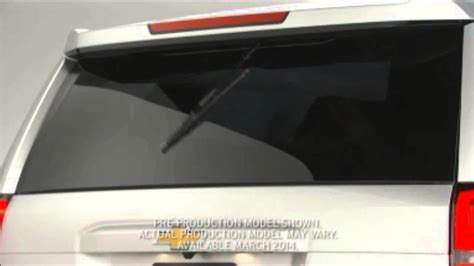 graffguru  chvey tahoe hidden rear wiper youtube