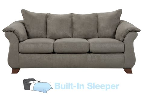 queen sleeper sofa sale upton microfiber queen sleeper sofa at gardner white