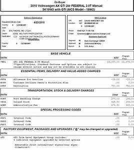 Invoice price car printable invoice template for Volkswagen dealer invoice price