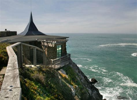 Impressive Glass House In California by Spectacular Glass House By The Sea In Timber Cove California
