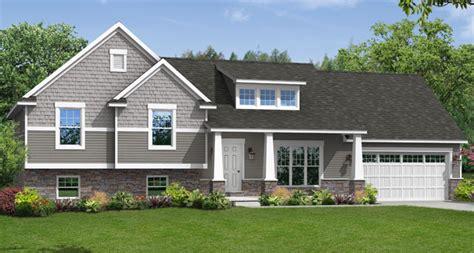 custom home floor plans  brighton split level wayne