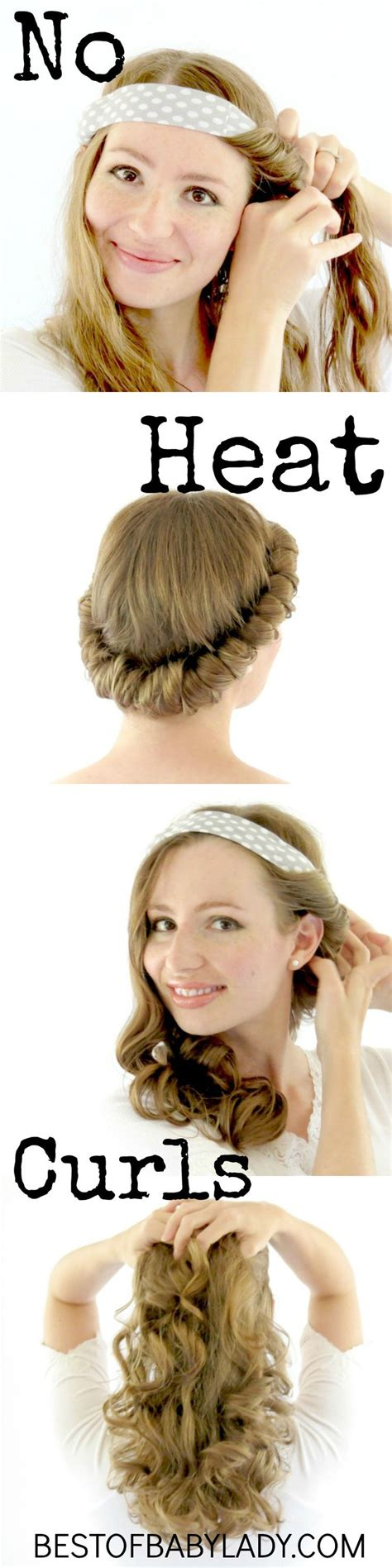 best 25 no heat hairstyles ideas on pinterest overnight
