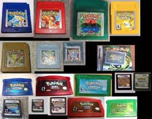 All Pokemon Games