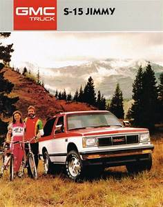 1987 Gmc Truck Jimmy S  Catalog W   Color