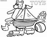 Toys Coloring Pages Sheet Colorings sketch template