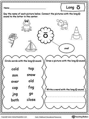 phonics worksheets long and short vowel sounds