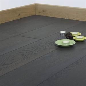 parquet chene massif francais huile finition gris With huile grise pour parquet