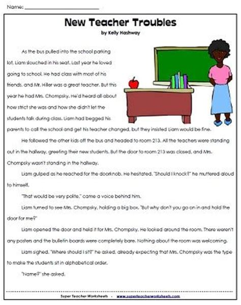 35 Best Images About Reading And Writing  Super Teacher Worksheets On Pinterest  3rd Grade