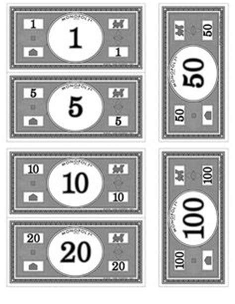 print   monopoly money printables