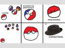 Image Le polandball fedorapng Polandball Wiki