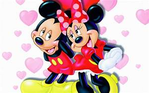 Mickey And Minnie Mouse Love Widescreen Wallpapers 08000 ...