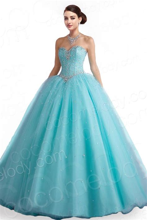 33 vestidos xv anos color aqua 25 ideas para fiestas